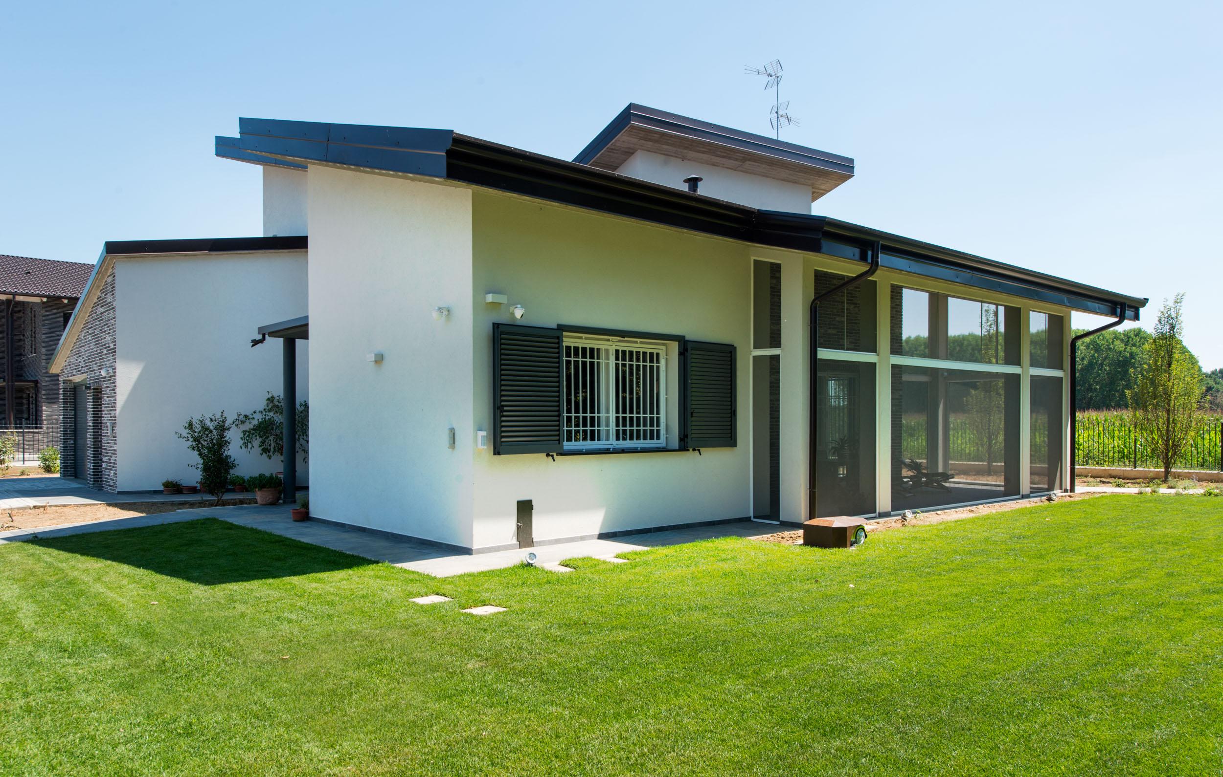 Progetti di ville singole elegant foto villa singola in for Progetti architettonici in vendita